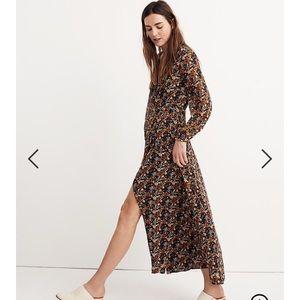 madewell maxi dress in prairie blossoms 🌾